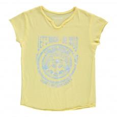T-Shirt Loup Boxo Jaune pâle