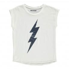 T-Shirt Eclair Boy Blanc