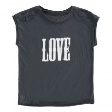 """T-Shirt """"Love"""" Boy Bleu nuit"""