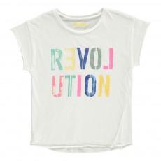 "T-Shirt ""Revolution"" Anita Blanc"