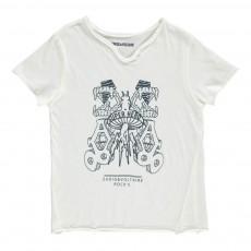 "T-Shirt ""Super Hero"" Boxer Blanc"