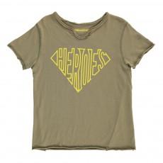 """T-Shirt""""Heroes"""" Boxer Vert kaki"""