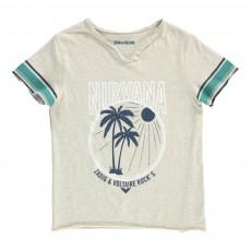 "T-Shirt ""Nirvana"" Boxer Ecru"
