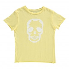 T-Shirt Crâne Kita Jaune pâle