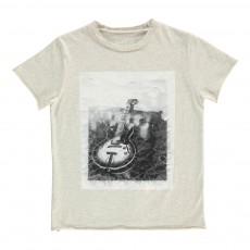 T-Shirt Guitare Kita Gris chiné
