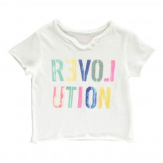 "T-Shirt ""Revolution"" Boxi Blanc"