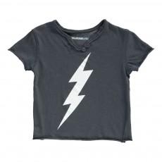 T-Shirt Eclair Boxi Bleu nuit