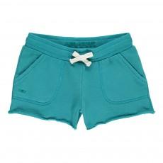 Short Molleton Missy Bleu turquoise