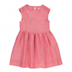Robe Lin Porcha Rose fuschia