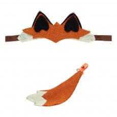 Oreilles et queue de renard