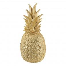 Lampe ananas Or Doré