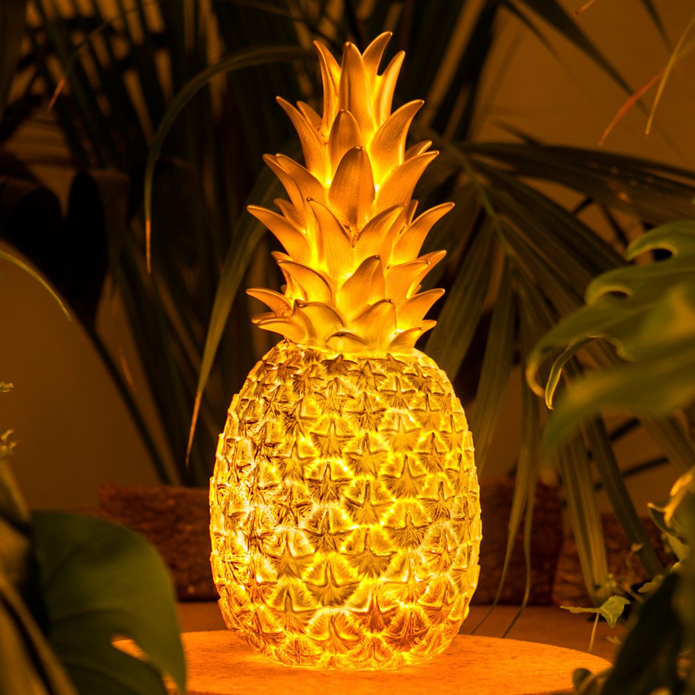 lampe ananas or dor goodnight light d coration smallable