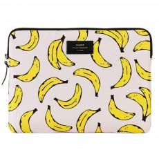 "Pochette laptop 13"" bananes"