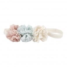 Headband 3 Fleurs Ecru