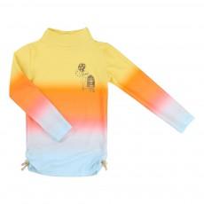 T-Shirt Anti UV Dégradé Orange