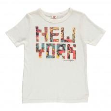 "T-Shirt ""New York"" Comics Blanc"