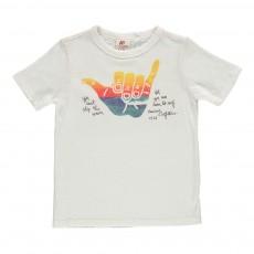 "T-Shirt ""Waves"" Blanc"