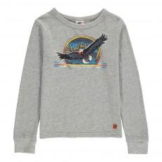 T-Shirt Aigle Gris chiné