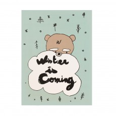 Affiche Winter is coming 29,7x42 cm