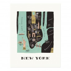 Affiche Rifle Paper New York - 28x35 cm