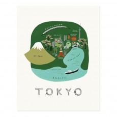 Affiche Rifle Paper Tokyo - 28x35 cm