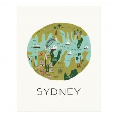 Affiche Rifle Paper Sydney - 28x35 cm