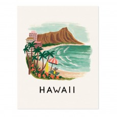 Affiche Rifle Paper Hawaii - 28x35 cm