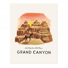 Affiche Rifle Paper Grand Canyon - 28x35 cm