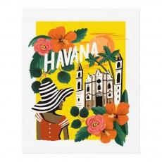 Affiche Rifle Paper Havane - 28x35 cm