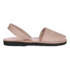 Sandales Cuir Avarca Taupe