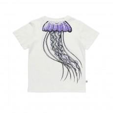 T-Shirt Méduse Arlo Blanc cassé