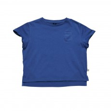 T-Shirt Crop Plum Bleu