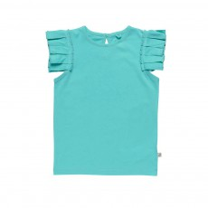 Top Cecile Bleu turquoise