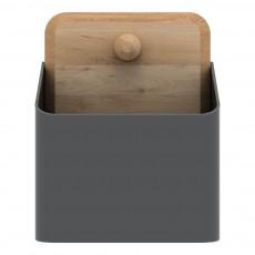 Boîte Pin Small Gris foncé