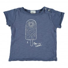 T-shirt Sorbet Cesar Bleu indigo
