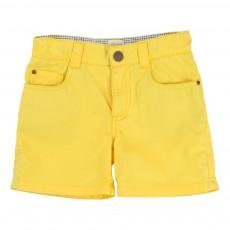 Short Coton Jaune