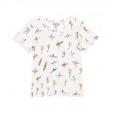 T-shirt Surfeuses du Feu Blanc