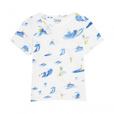 T-shirt Ipanema Surf Blanc