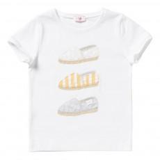T-Shirt Espadrilles Blanc