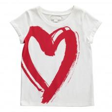 T-Shirt Cœur Rose pâle