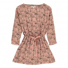 Robe Fox & Racoons Vieux Rose