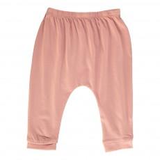Pantalon Jersey Cannelle Vieux Rose