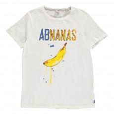 T-shirt Bananas Blanc