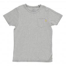 T-shirt Poche Avant Gris chiné