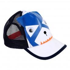 Casquette Chat Bleu marine