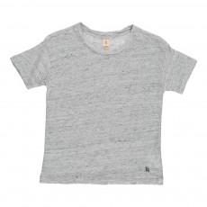 T-Shirt Lin Mogle Gris chiné