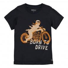 T-Shirt Momie Motard Keny Bleu nuit