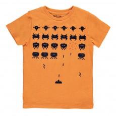 T-Shirt Jeu Arcade Vigo Orange