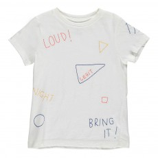 T-Shirt Brodé Vigo Blanc