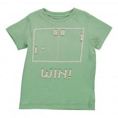 T-Shirt Arcade Vigo Vert d'eau